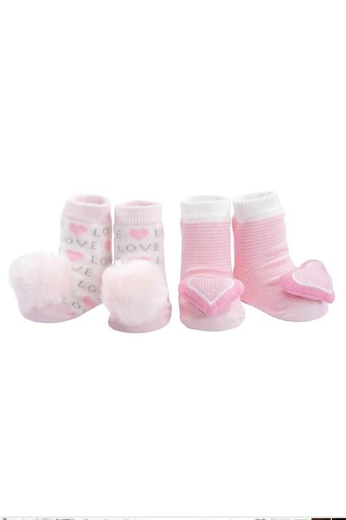 Rattle Socks by Elegant Baby