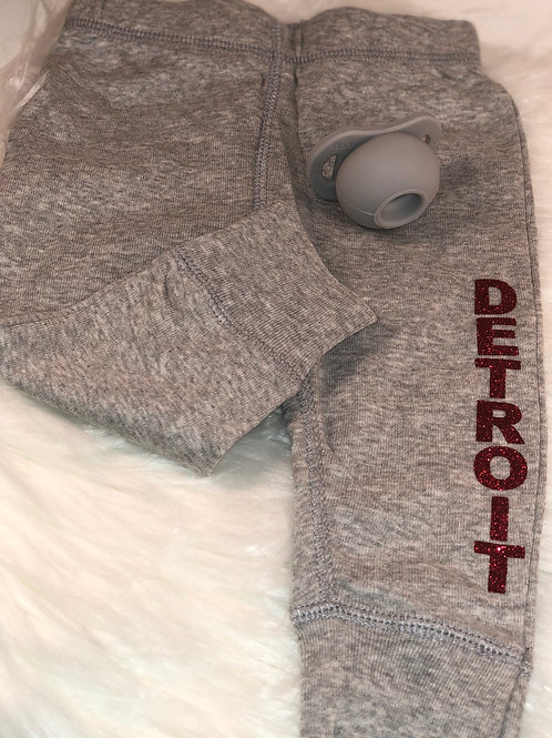 """Detroit"" Baby Pants"