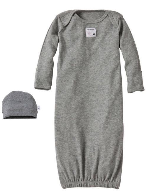 2-Piece Hat & Gown Set by Burt's Bees Baby
