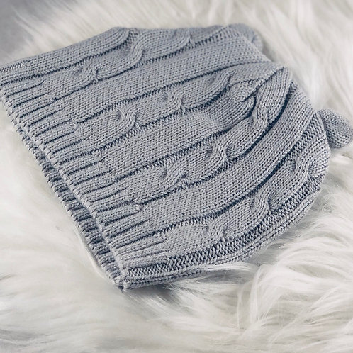 Cable Knit Hat by Elegant Baby