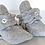 Thumbnail: Quilted Bee Baby Booties