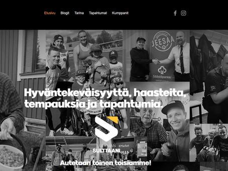 Sukevan Sulttaanin nettisivut ovat nyt valmiit.