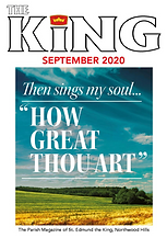 Cover Graphic - The King September 2020.