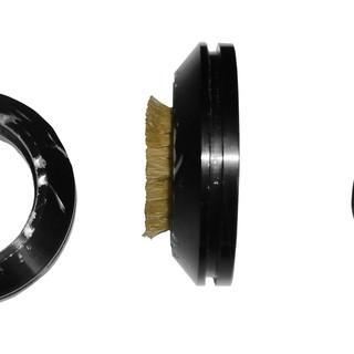 Brush adapter rings