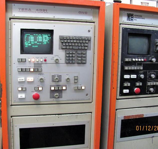 Tera 4031 controls