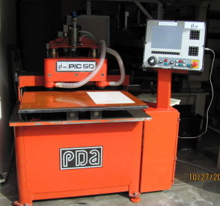 PDA P/C 50 2 1/2 axis router.