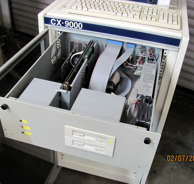 CX-9000 control with slides