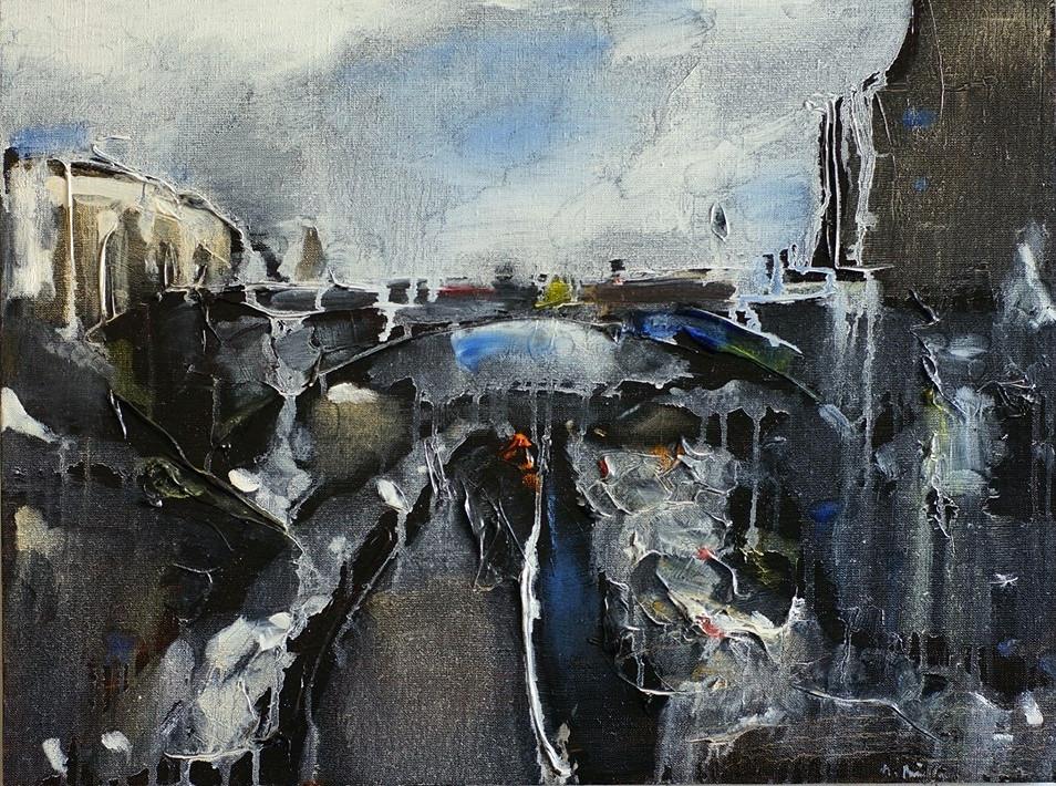 Рис. 4. М. Вайсберг. Двадцять восьма картина циклу «Стіна»