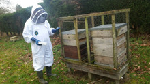 Spring is in the air..heft your hives!