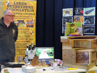 Beekeeping at Otley Science Fair