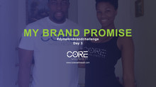 DAY 3 - My Brand PROMISE