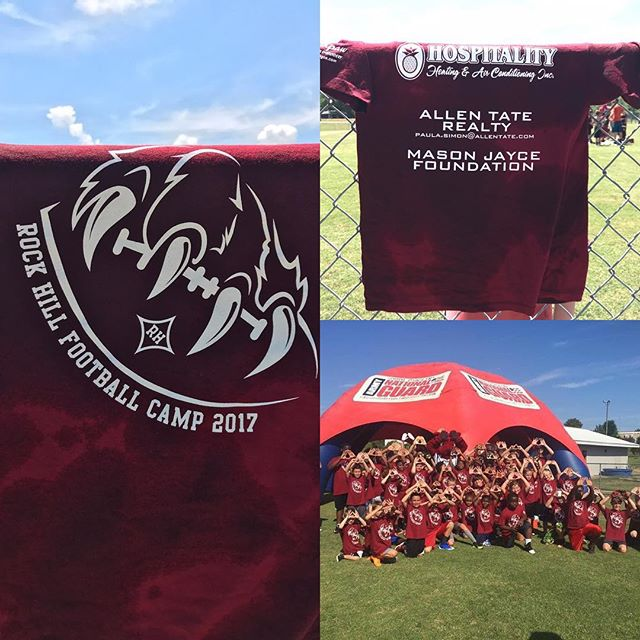Best football camp ever. Thank you to RHHS for allowing us to be a part of it