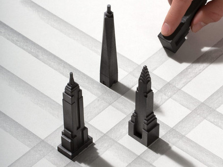 PENCIL SET FOR ARCHITECTURE LOVERS!