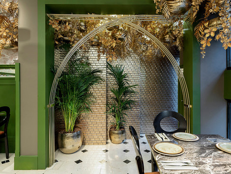 THE MOST ELEGANT HINDU RESTAURANT IS IN MADRID