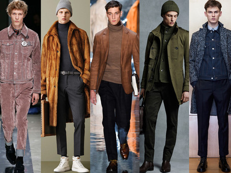 MENSWEAR F/W 2015 TREND REPORT..A LOT TO CHOOSE