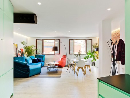 COLORFUL HOUSE REMODEL