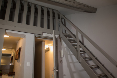 lit mezzanine chambre cannelle