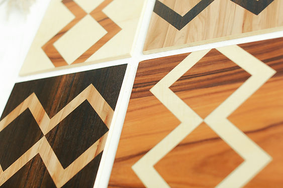 vply voodz wood veneer wall design art