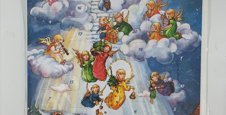 Advent Calendar: Angels In the Sky
