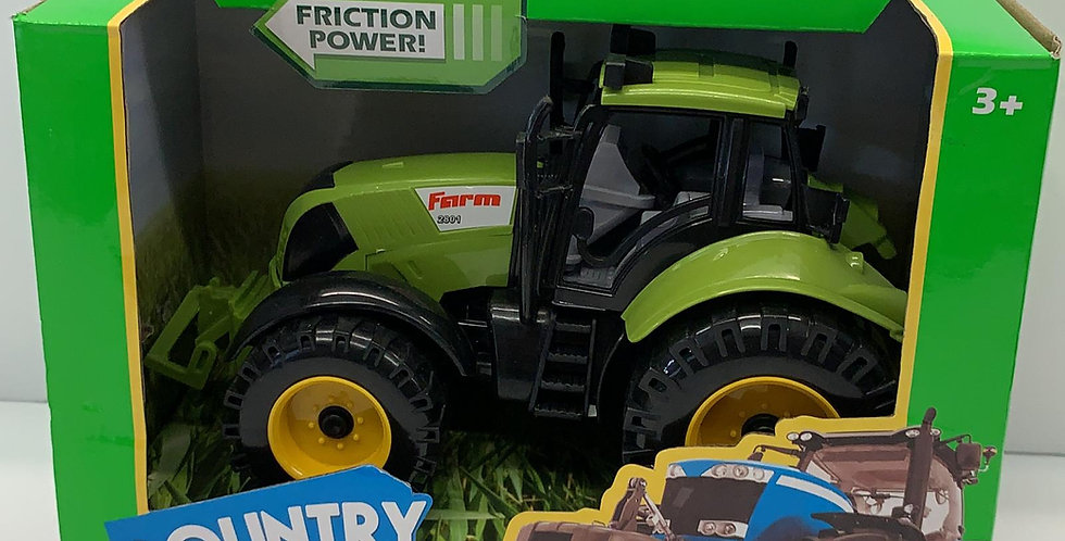 Country life: Green Friction Tractor