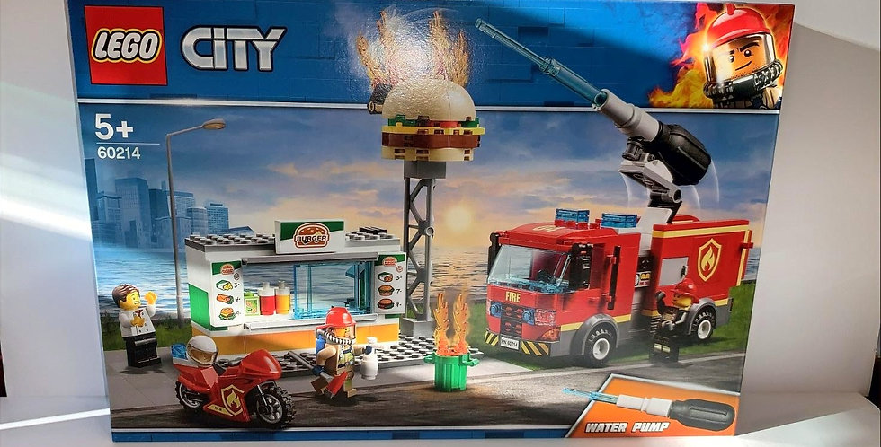 Lego City: Fire Engine