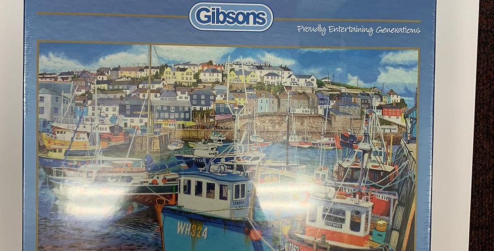 Gibsons: Mevagissey Harbour 1000 piece