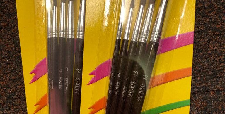 Galt: 5 Paintbrushes