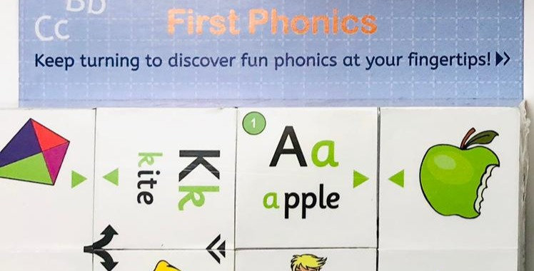Cube Book: First Phonics