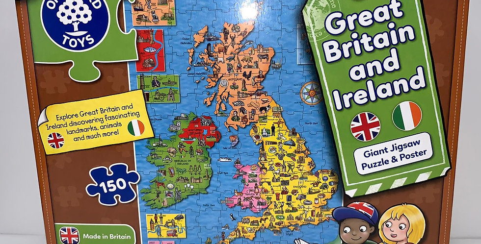 Orchard Toys: Great Britain & Ireland