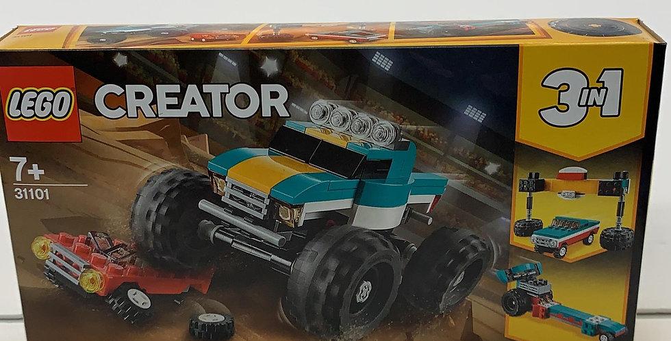 Lego creator: 3 in 1 Monster Truck