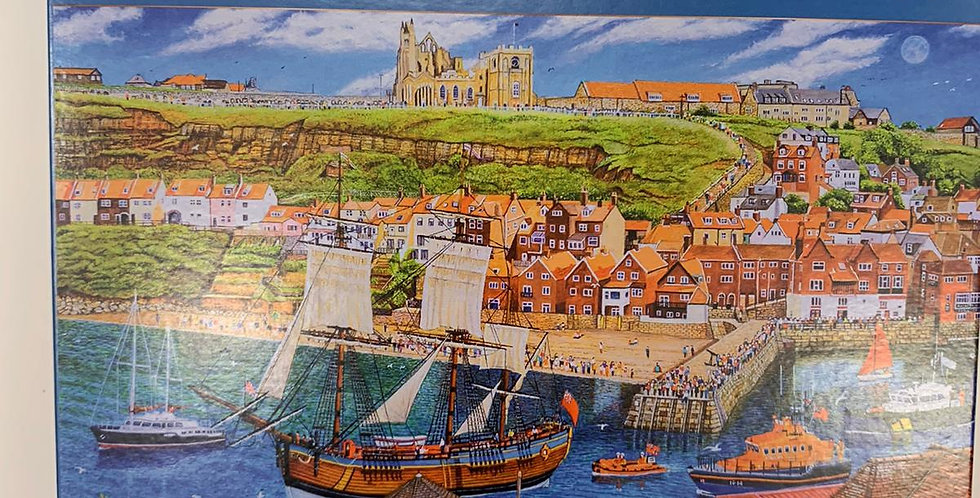 Gibsons: Endeavour, Whitby 1000 piece