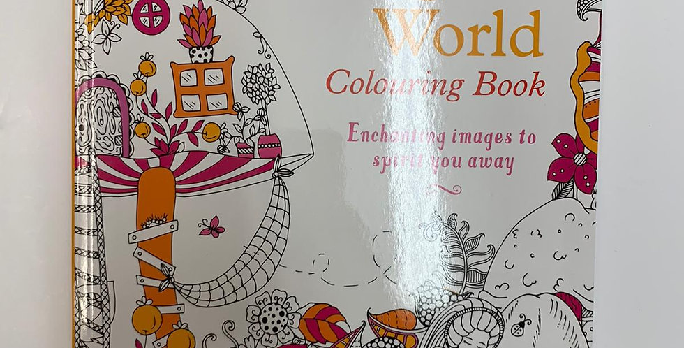 Magic World Colouring book
