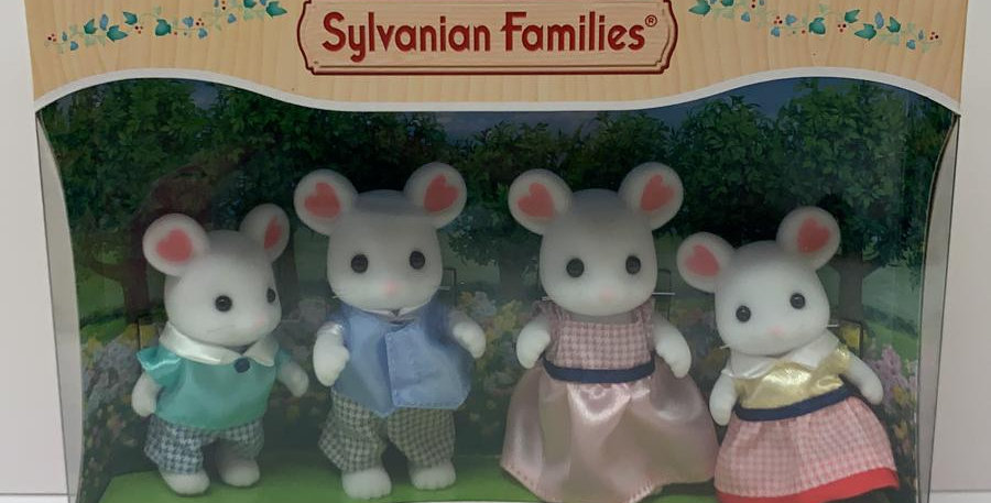 Slyvivian Families: Marshmallow Mouse Family