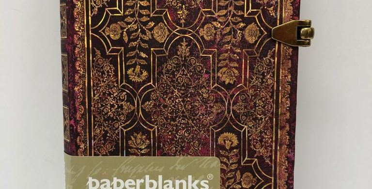 Paperblanks lined notebook Fall Filigree 14x9.5cm