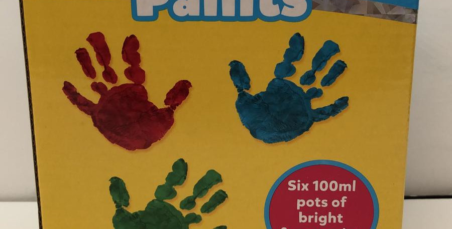 Galt: 6 Finger Paints