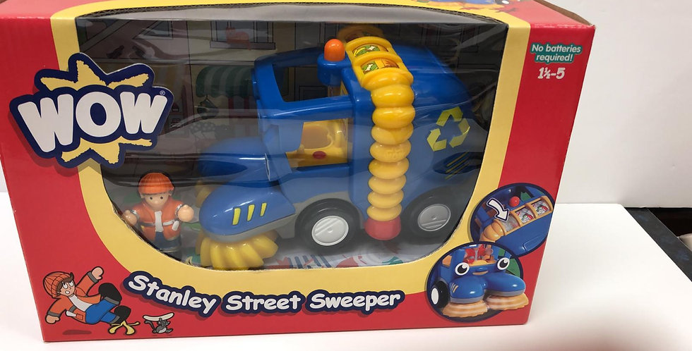 Wow: Street Sweeper age 18mths