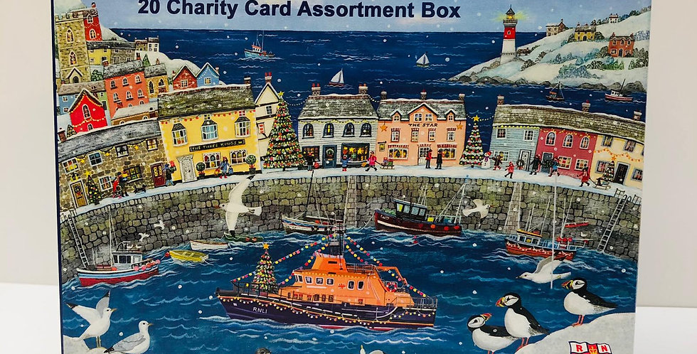 Lifeboat Charity Box of 20 cards