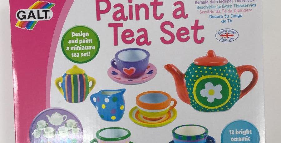 Galt: Paint a Tea Set