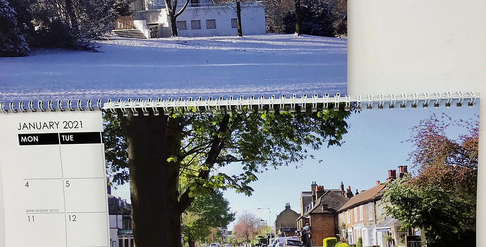 Images of Dulwich calendar