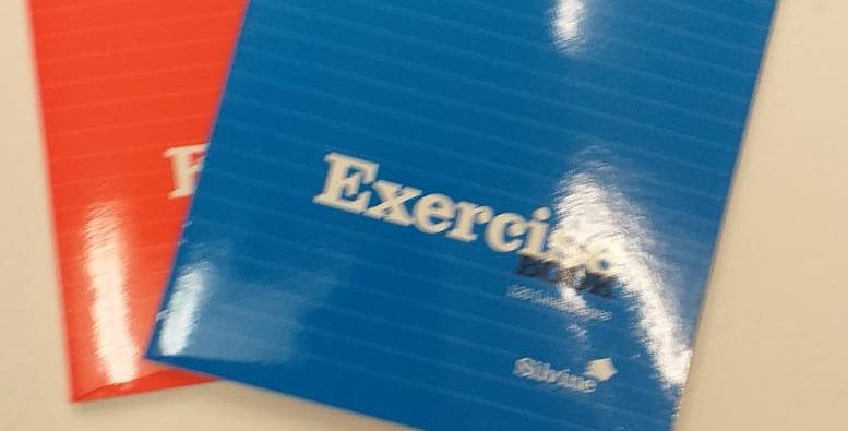 Silvine exercise books