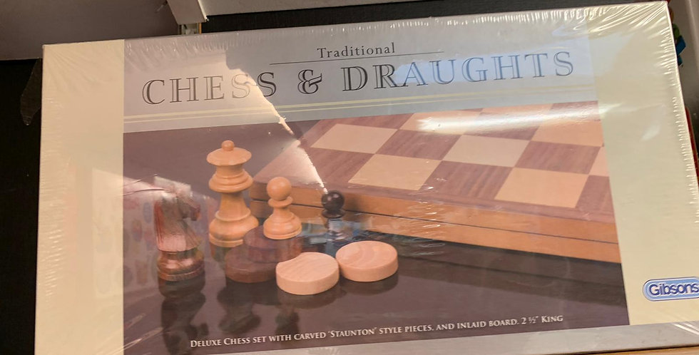 Traditional Chess & Draughts