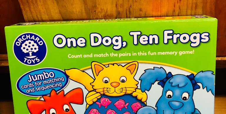 Orchard Toys: One Dog, Ten Frogs