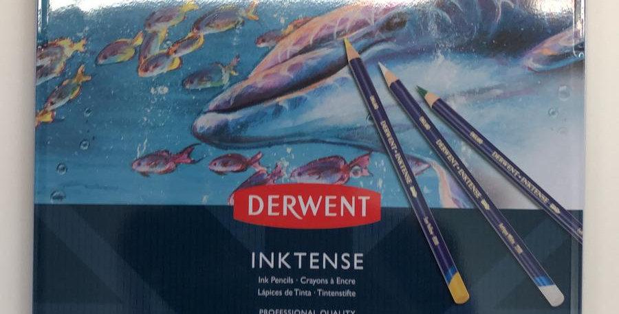 Derwent: 24 Inktense pencils