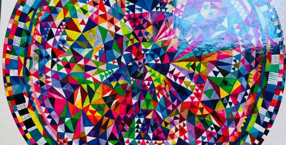 Eeboo: Triangle Pattern 500 piece