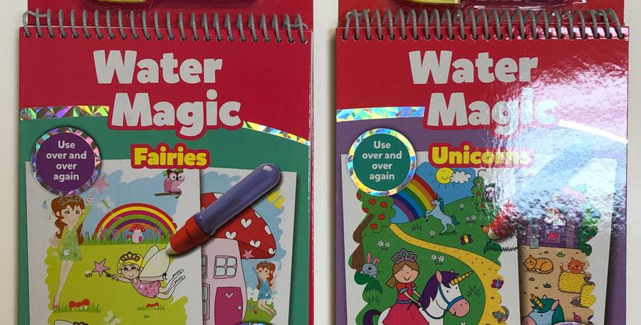 Galt: Water Magic Reusable water painting book