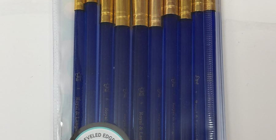 Royal& Langnickel: Hog Bristle brushes for oils and acrylics