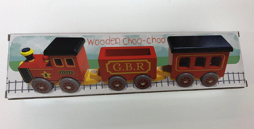 Wooden Choo-Choo train 18 months+