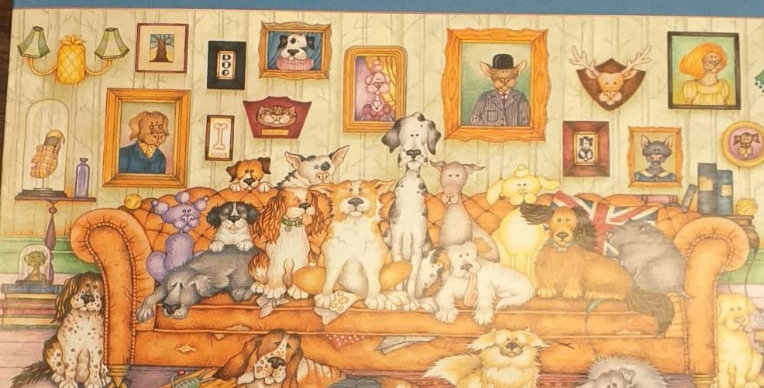 Gibsons: The Barker-Scratchits 500 piece