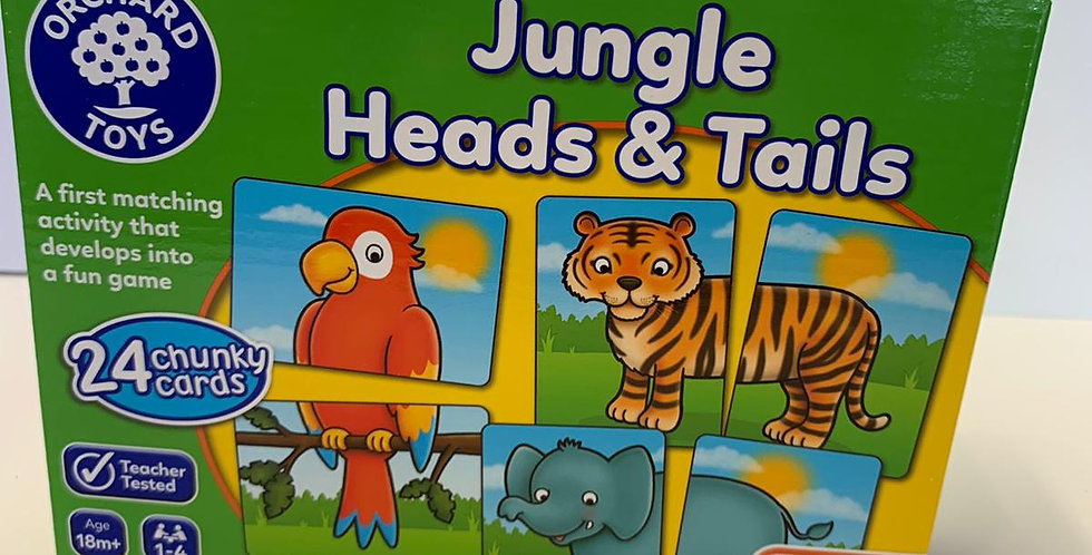 Orchard Toys: Jungle Heads & Tails