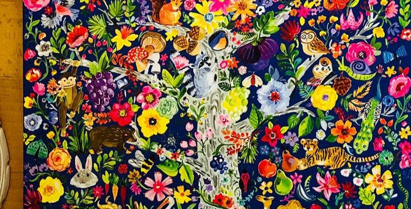 Eeboo: Tree Of Life 1000 piece